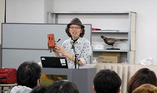 伊藤有壱氏講演会「ネオクラフトアニメーションの世界」 開催